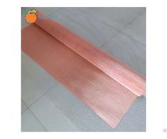 100mesh Copper Woven Wire Mesh