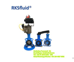 Flanged And Wafer Steel Butterfly Valves Ptfe Butter Fly Valve Manufacturers