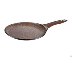 Non Stick Marble Coating Eyesi Pan Cake Cookware Without Lid