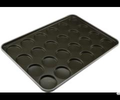 Cs High Quality Flat Base Hamburger Bun Pan