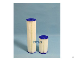 Bpc Series Big Blue Polyester Pleated Cartridges