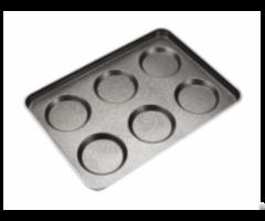 Cs Mini Hamburger Baking Pan For Industrial Gas Oven
