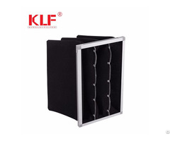 High Efficiency Air Conditioning Spray Booth Activated Carbon Pocket Filter Supplier