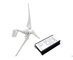 400w 12v 24v Wind Turbine Generator With 20a Hybird Charge Controller