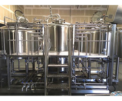 Factory 1000l 2000l Brew Kettle Turnkey Mini Beer Brewing System