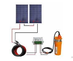 200w 24v Solar Water Pump System With Mounting Kits For Fountain
