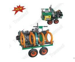 Chdhj 315w American Type Hydraulic Butt Welding Fusion Machines With Wheels 4300w Jointing Machine