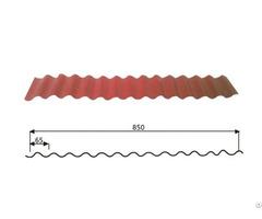 Steel Wave Tiles Factory