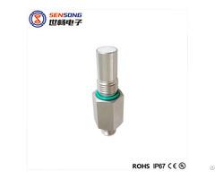M12 500bar Pressure Resistant Hydraulic Inductive Sensor Pnp Npn