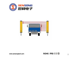 Industry Automation Area Sensor Also Measuring Safety Light Curtain 35x35mm 24v Npn Pnp Relay