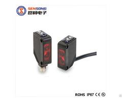 31mm Square Diffuse Retro Reflective Photoelectric Sensor