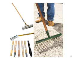 Wooden Farm Brush Garden Tools Handle Stick