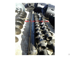 Cfa Auger 600mm Dia With Start Bauer Bg24 Drilling Rig For Continuous Flight Pile