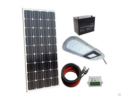 40w 12v Completed Led Solar Street Lighting System For Outdoor Yard Garden