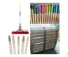 Natural Wooden Broom Brush Sweeping Handle Stick