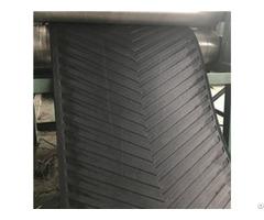 Product 630 3 6 2 Black Depth Chevron Patterned Conveyer Belt For Stone Crusher