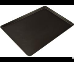 Teflon Coating Non Stick European Round Angle Aluminized Alloy Sheet Pan