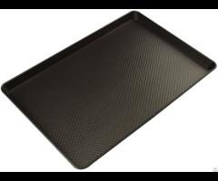 Teflon Coating Non Stick Corrugated Aluminized Alloy Sheet Pan