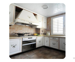 Simple White Customized Kitchen Cabinets Lw Ej002