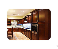 Solid Wood American Kitchen Cabinet Lw Ak003