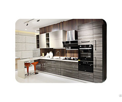 Solidwood Contemporary Kitchen Cabinet Lw Ck002