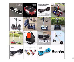 Rooder 2 Wheel Self Balancing Electric Scooter, Hoverboard, Walkcar, Skateboard, Segway