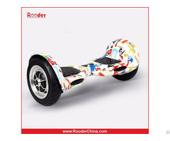 Rooder R807 Two Wheels Self Balancing Scooter Cheap Bluetooth Hoverboard 10 Inch