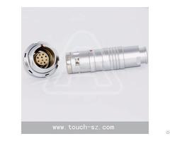 Touch 10pin Plug Fgg 2k 310 Push Pull Circularconnector