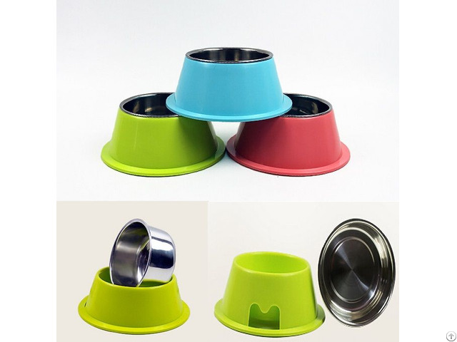 Pet Dog Stainless Steel Food Bowl