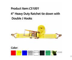 Wdcs041001 4 20000lbs Heavy Duty Ratchet Straps