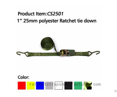 "Wdcs010101 1"" 25mm Polyester Ratchet Tie Down"