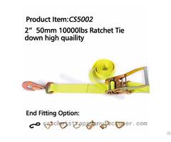 Cs5002 2 50mm 10000lbs Ratchet Tie Down High Quaility