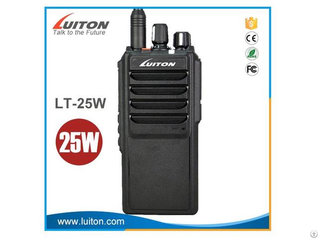 25watt Output 4000ma Battery Portable Walkie Talkie
