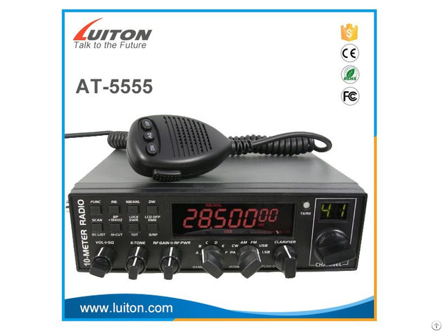 At 5555 Anytone 10 Meter Am Fm Ssb Cb Radio