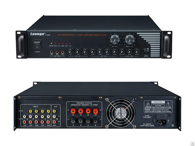 K 2000 Combined Power Amplifier