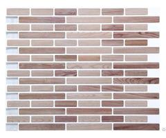 Beige Linear Mosaic Composite Vinyl Wall Tile Manufacturer