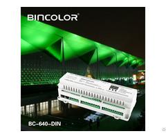 Din Rail High Power Dmx512 Constant Voltage Decoder Bc 640