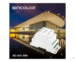 Din Rail Dmx512 Signal Amplifier