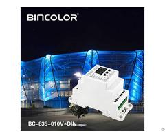 Din Rail Dmx512 To 0 10v Converter Bc 835 010v