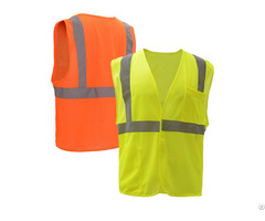 High Visibility Apparel Clothing Class Ii Mesh Polyestersafety Vest