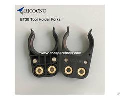 Black Bt30 Tool Holder Forks For Cnc Router Machines