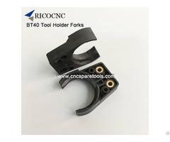 Bt40 Plastic Tool Change Gripper Fingers For Cnc