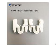 Cnc Router Hsk63f Tool Holder Fork Homag Toolchanger Grippers