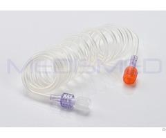 Pvc 1500 Mm Low Pressure 300 Psi Connector Tubing Patient Lines Extension Tubes