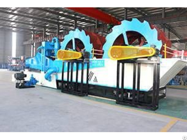 Dual Wheel Sand Washing And Recycling Machine