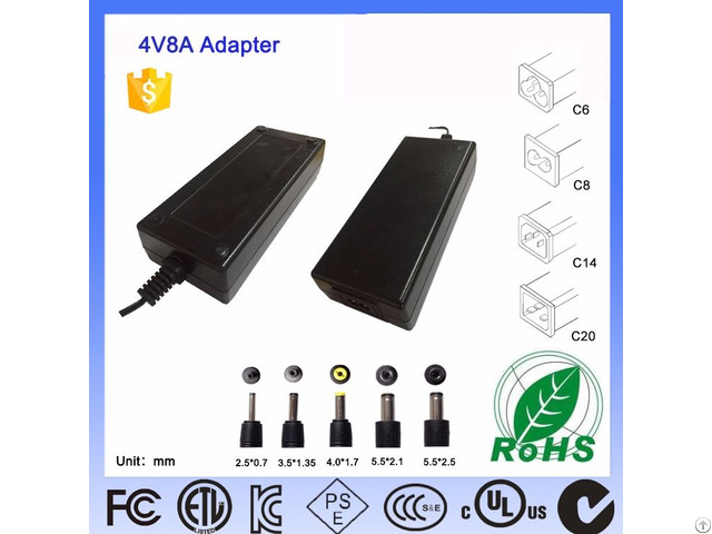 Input 100 240v 50 60hz And Output 5 57v 65w Laptop Ac Switching Power Adapter Level Vi Pse Certified