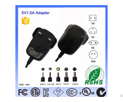 5v 2a Level Vi Ac Dc Switching Class 2 Interchangeable Adapter With Bs Approval Ip44 Gs Certified