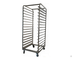 Multi Layers Stainless Steel Bread Caking Ovan Baking Trolley