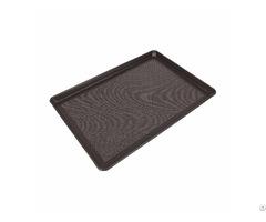 Custom Vary Coating Non Stick Corrugated Aluminized Bake Tray Direct Factory
