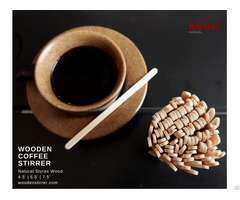Kego Wooden Coffee Stirrer